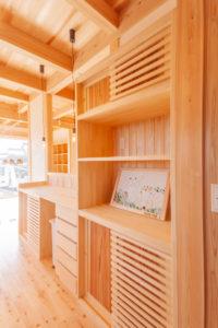 キッチン造作家具食器棚