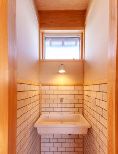 2階洗面全景