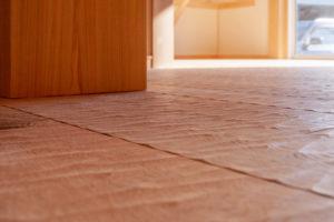 なぐり加工|楢の無垢材